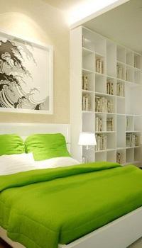 Цвет стен в спальне по фен шуй