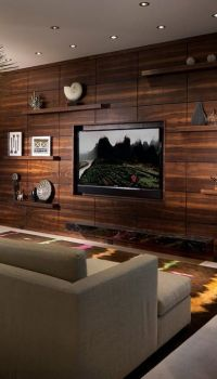 Вариант современного дизайна гостиной
