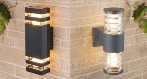 Вариант применения уличных светильников