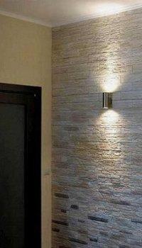 Выделение камнем светильников