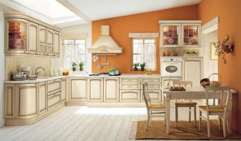 Классический стиль оформление кухни