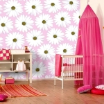 Красивое оформление в розовом тоне для вашего малыша