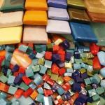 Мозаика из смальты отлично подойдёт для художников