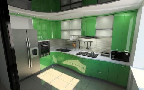 Оформление рабочей плоскости на кухне