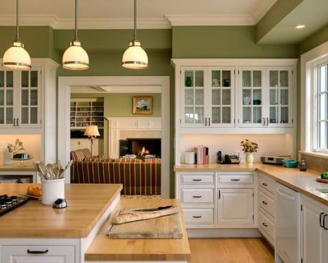 Правила выбора цветового решения для кухонных стен