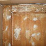 Шпаклевка по дереву для дверей – ремонт полотна