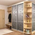 Купейная мебель в коридоре