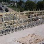 Возведение моста с неметаллической арматурой