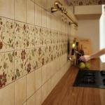 Керамическая плитка с матовой и структурной узорчатой поверхностью