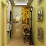 Современный стиль коридора в квартире