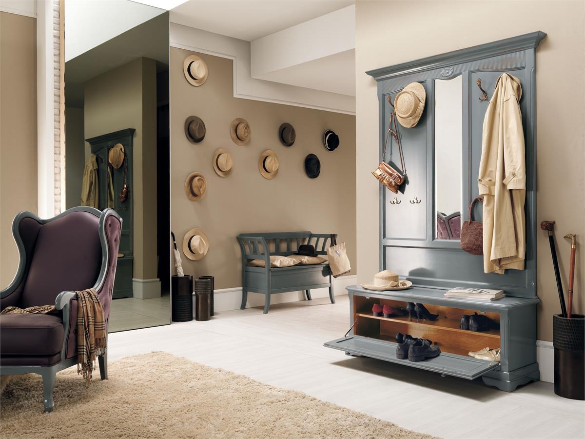фото мебель прихожей в стиле ретро это единство