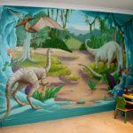 Фотообои с динозаврами