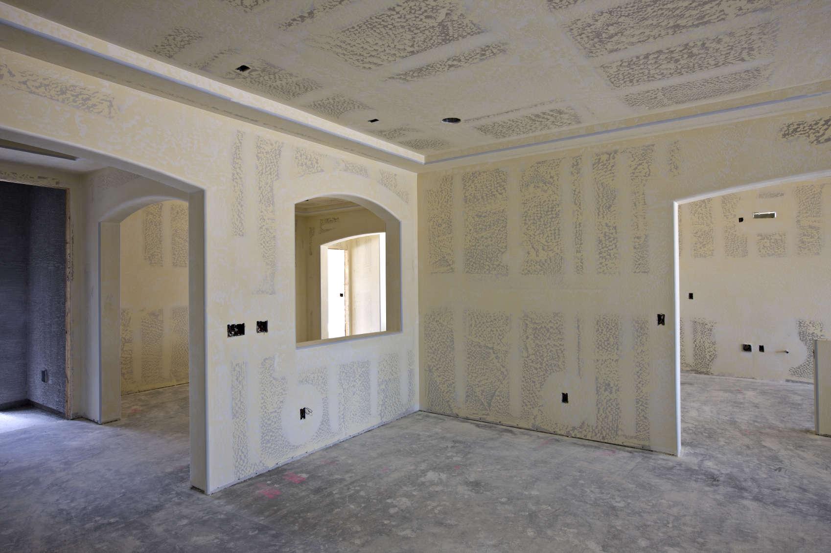 лучше фото дома со стенами из гипсокартона колоде