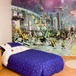 Космические баталии – актуальная тема фотообоев для комнаты мальчиков