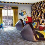 Оформление комнаты в стиле мультика «Гадкий Я»