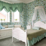 Рисунок обоев зависит от размеров комнаты