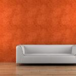 лаконичная и элегантная отделка стен декоративной штукатуркой