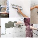 Декоративная штукатурка используется для отделки стен и потолков